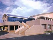 外観:基山町民会館・体育施設